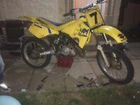 Swap Suzuki RM250cc for road bike 4x4 etc