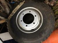 NEW 9.5R17.5 CONTINENTAL TYRE AND WHEEL