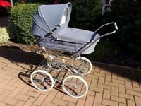Late 80's Silver Cross Coach Built Pram