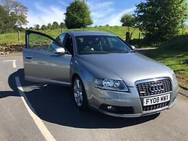 Audi A6 2.0 TDI S line grey 2008 cvt immaculate