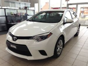 2014 Toyota Corolla LE *BANCS CHAUFFANT, BLUETOOTH*