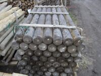 Timber fence post 125mmx2.1m