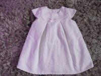 6-9 months beautiful white dress