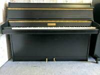 Refurbished Satin Black Bentley Upright Console Piano - CAN DELIVER