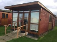 Holiday chalet in Mablethorpe sleeps 4 from £100pw