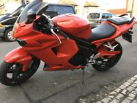 MOTORBIKE HYOSUNG GT 650 CC GT650R GT650 R GRAB YOURSELF A BARGAIN !!! MAKE AN OFFER ! MOTORCYCLE