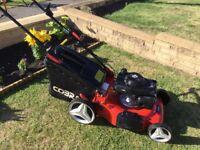 Cobra M51SPH Petrol Lawnmower Self Propelled Fully Serviced Honda Engine Great Mower Great Results