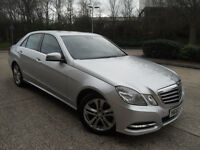 Mercedes-Benz E Class E220 Cdi Blueefficiency Ss Avantgarde Saloon Auto Dieel 0% FINANCE AVAILABLE