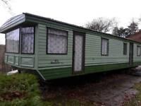 Static caravan 35ft x 12 ft 3 bedroom Price includes delivery £2000.00