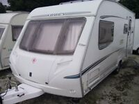 2005 Abbey GTS Vogue 416 caravan(4 Berth)Complete with Mover and Lots of Extras....RELISTED