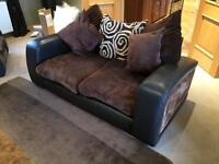 3 Piece Suite (Swivel Chairs) (Footstool)