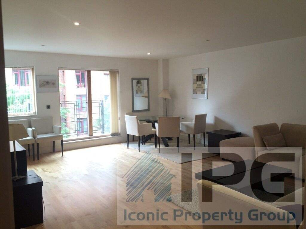 Spacious, modern 3 Double Bedroom Apartment (2 Bathrooms) With 24 Hour Concierge. Available To View