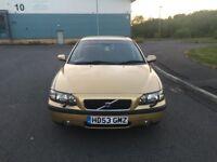 Volvo S60 se D5 Turbo Diesel 2.4cc 160bhp 4 door saloon 53/2003 1 former keeper 59k part service his
