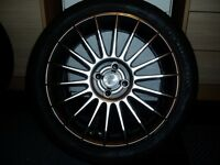 Brand new TSW Alloy with a Avon tyre