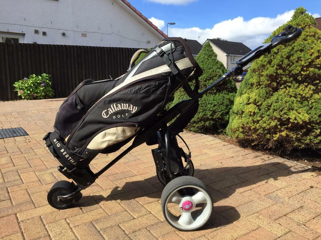 MoCad 3 Electric Golf Trolley | in Uphall, West Lothian | Gumtree