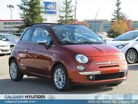 2012 Fiat 500C Cabrio Lounge One Owner Excellent Cond