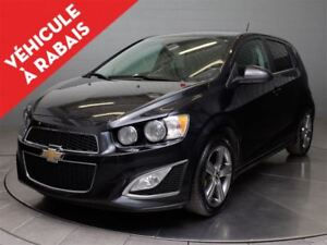 2015 Chevrolet Sonic RS HATCH TURBO MAGS TOIT CUIR