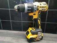 DeWALT DCD796 BRUSHLESS COMBI DRILL, 18V, XR, Li-ion + 5ah battery_____Makita Hilti DeWALT