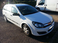vauxhall astra estate diesel spares or repairs ,moted and drives