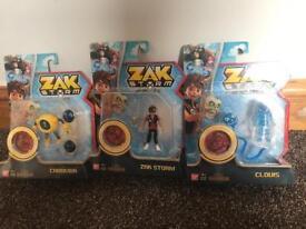 Brand new sealed Zak storm toys