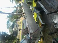 16ft welded aluminum fully equipped fishing boat