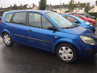 Renault Scenic Grand 7 Seater - For Parts or Repair £375 ono