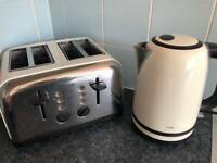 Kettle and double toaster