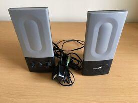 Genius Computer Stereo Speakers