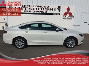 2015 Chrysler 200 C, ONLY 18,000KM, LOADED WITH OPTIONS, LEATHER