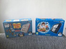 Nintendo 2ds * 2