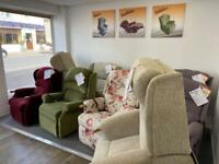 Large Selection Of Reconditioned Sherborne & HSL Riser Recliner Chairs + We Deliver In 1 - 5 Days