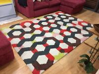Colourful Rug in great condition