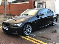 BMW 320D MSport Coupe. 2008, 11 BMW service stamps top spec.