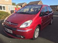 CITROEN XSARA PICASSO 2.0 HDI DIESEL 2005 MODEL YEARS MOT - A VERY NICE ECONOMICAL FAMILY SIZED CAR