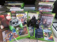 53 ORIGINAL XBOX GAMES and 2 controllers