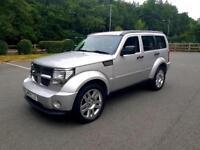 2009 59 dodge nitro SXT 2.8 CRD ✅ genuine 44k Miles . Tow bar Land Rover ✅ shogun ✅ 4x4