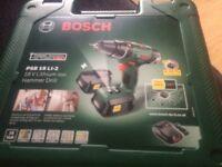 Bosch 18v li-2 hammer drill