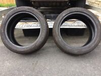 TYRES 225&235/45/17