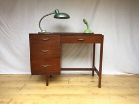 Vintage Stag 1960s John and Sylvia Reid desk.