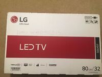 Brand New In Sealed Box LG LED TV - 32 Inch - Cheap £185