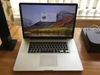 Stunning MacBook Pro 17inch screen