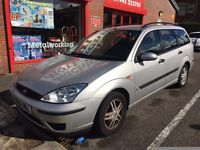 2002 Ford Focus 1.6i 16V CL Estate, 6 Months mot,Only 78,000 Miles, good Runner, Alloys, Ready to go