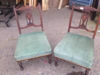Nursing chairs x2