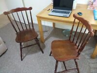 Dining table with 2 chair for sale