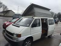 Volkswagen transporter t4 camper van professional conversion full side kitchen rock roller bed