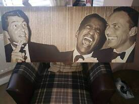 Rat Pack Canvas