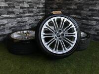 "18"" Genuine Audi A5 S Line 10 Twin Spoke Alloy Wheels A4 A6 VW"