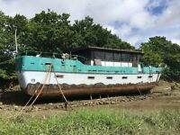 Houseboat Project For Sale