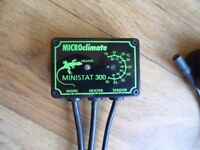 Microclimate Ministat 300 On / Off Reptile Vivarium Thermostat, 300w