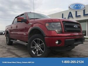 2014 Ford F-150 FX4, Leather, NAV, Moonroof !!